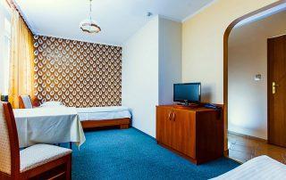 Hotel Zielonki, Stare Babice. Pokój dwuosobowy typu TWIN (z dwoma łóżkami) Hotel Zielonki pod Warszawą